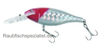 "PowerCatcher Diving Flat Shad ""Redhead"" 7cm"