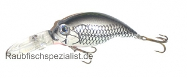 "Fladen Tubby 14 cm ""Silver - Black"""