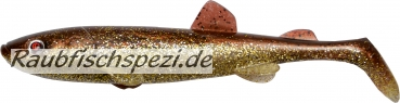 "Quantum Smelt Shad 13 cm ""Hot Brownie""    -3Stück-"