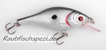 "Spro Power Catcher Fat Shad 7 cm ""Black Back"""