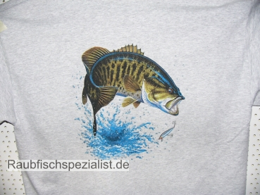 "T-Shirt ""Bass"" grau"