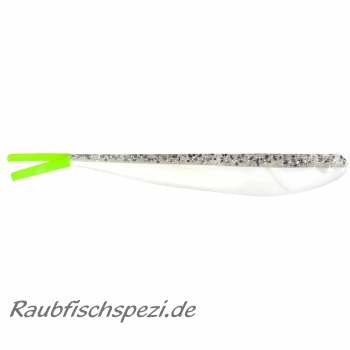 Manns Q-Fish 13 cm Salt & Pepper UV Tail
