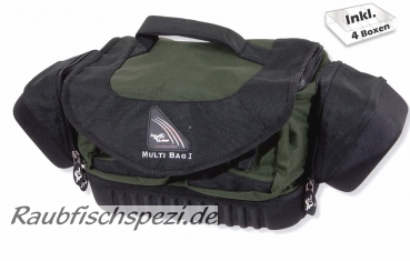Sänger Iron Claw Multi Bag I inkl. 4 Boxen