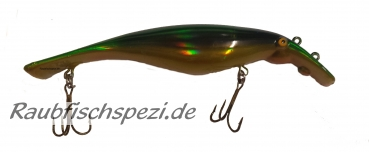 "Conrad Pike Beast 17,5 cm  ""green gold metallic"""