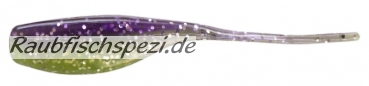 "Relax Stinger Shad 5 cm (2"") Purple / Chartreuse"
