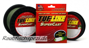Tuf Line Super Cast  0,10 mm  grün   /50m