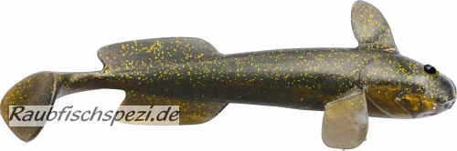 "Quantum Goby Shad 10 cm ""Puddle of Mud""   -3 Stück-"