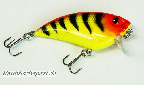 "Spro Power Catcher Flat Crank 5 cm ""Orange Tiger"""
