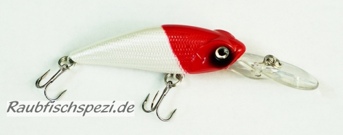 "Spro Power Catcher DD Shad 6 cm ""Red Head"""