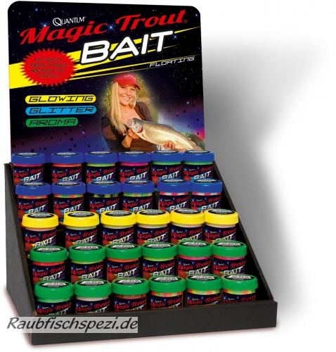 "Quantum Magic Trout Bait Glitter ""pink  / Anchovy""  50g"