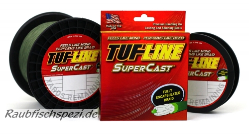 Tuf Line Super Cast  0,18 mm  grün   /50m