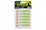 Spro Slug Shad 7,3 cm Flash Mix  -6 Stück -